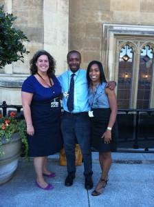 Heidi Alexander, Trevor Cole & Leila Thomas at House of Commons