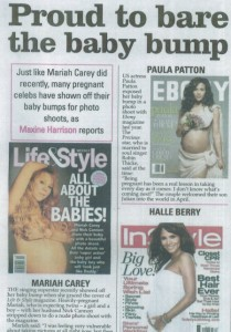 Maxine Article in The Voice