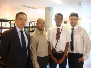 St Matthew Academy visit