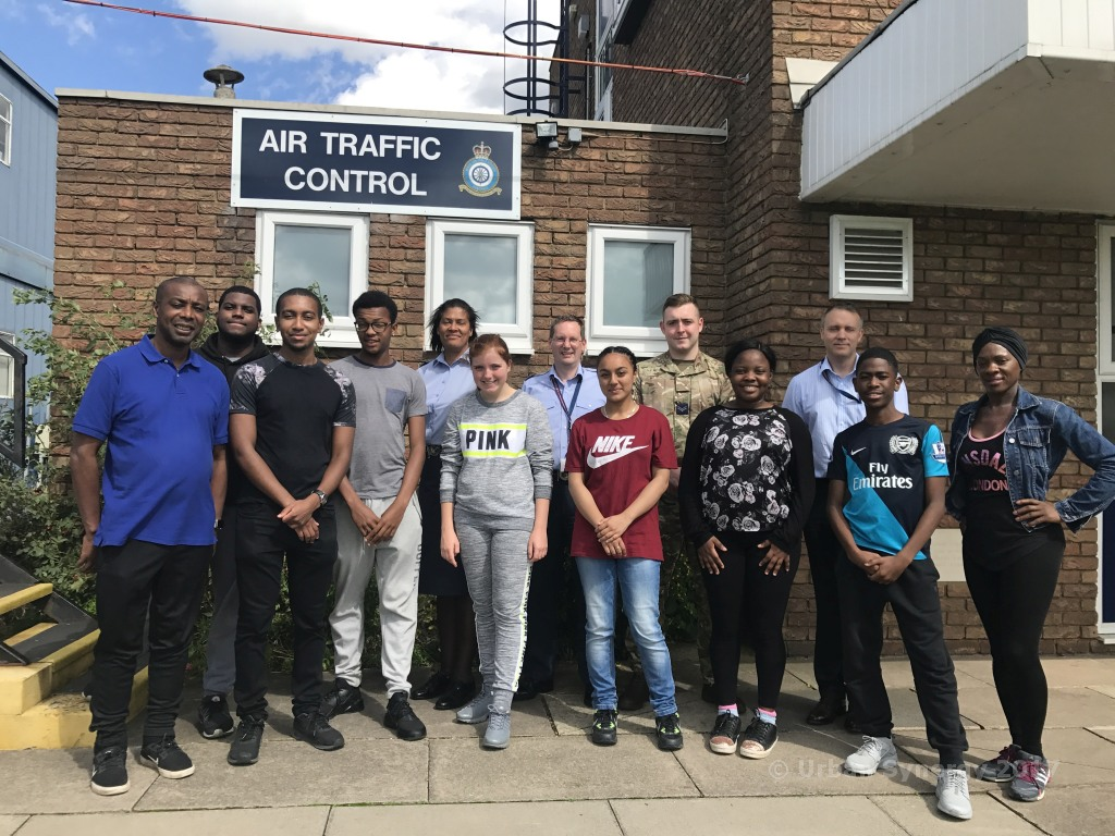 Urban Synergy visit to RAF Northolt
